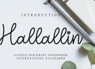 Hallallin Font
