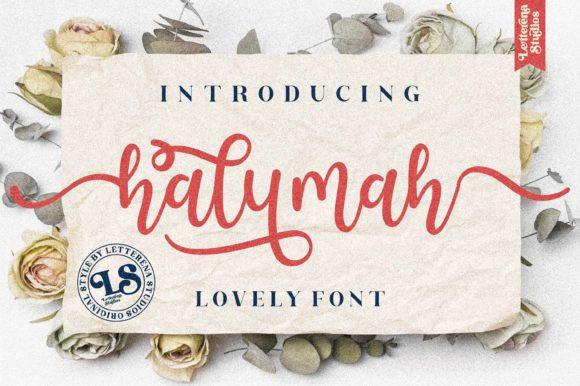 Halymah Font