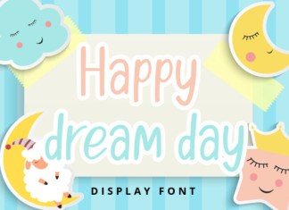 Happy Dream Day Font