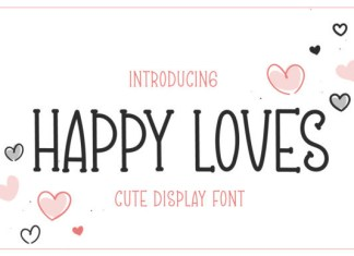 Happy Loves Font