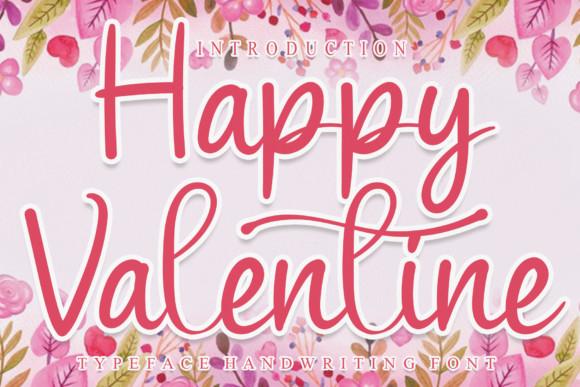 Happy Valentine Font