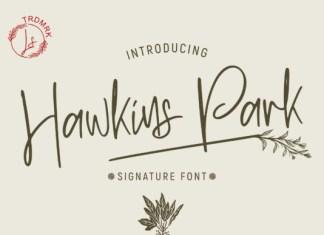 Hawkins Park Font