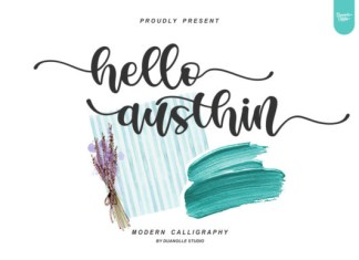 Hello Austhin Font