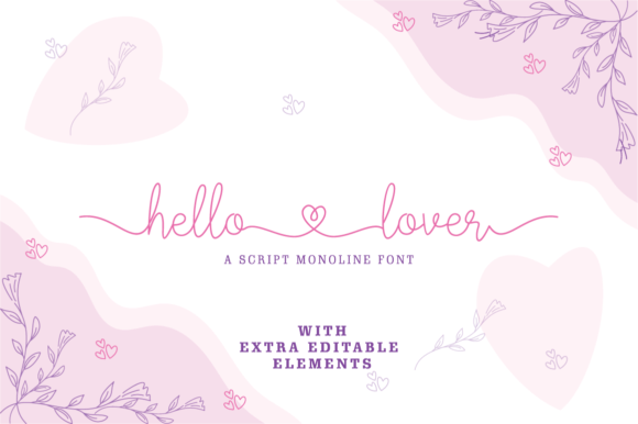 Hello Lover Font