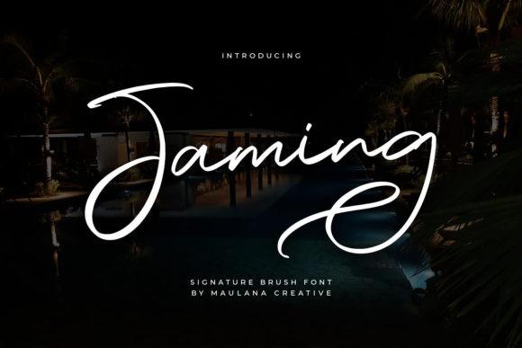 Jaming Font