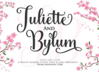 Juliette and Bylum Font