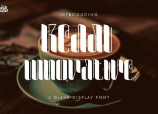 Kedai Innovative Font