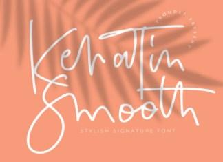 Keratin Smooth Font
