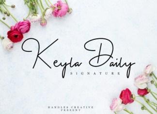 Keyla Daily Font