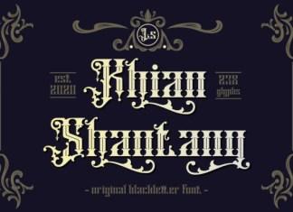 Khian Shantang Font