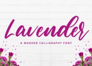Lavender Font