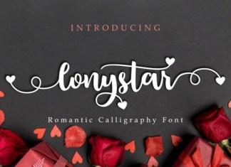 Lonystar Font