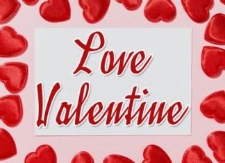 Love Valentine Font