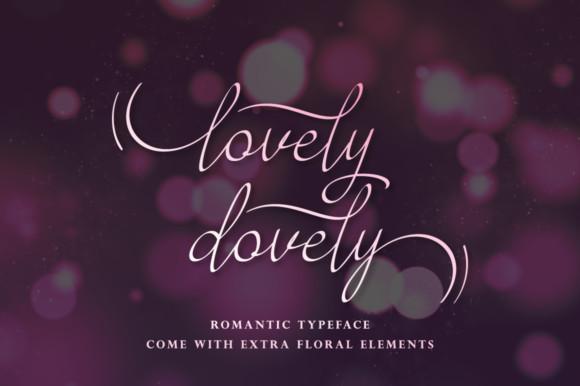 Lovely Dovely Font
