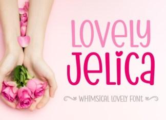 Lovely Jelica Font