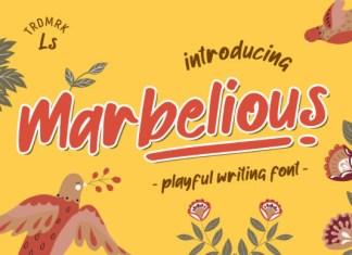 Marbelious Font