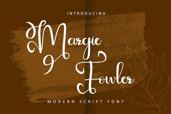 Margie Fowler Font