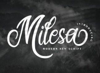 Milesa Font