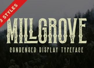 Millgrove Font