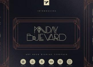 Monday Boulevard Font