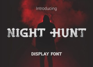 Night Hunt Font
