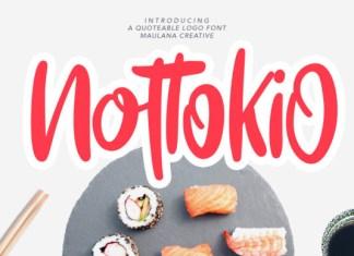 Nottokio Font