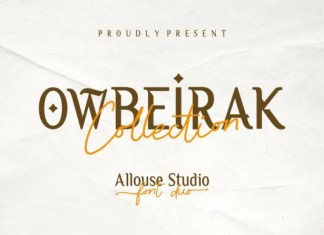 Owbeirak Collection Font
