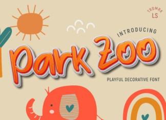 Park Zoo Font