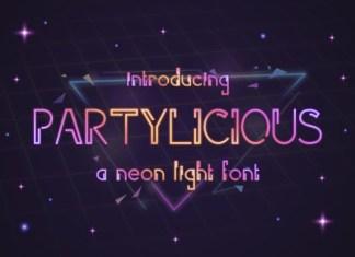 Partilicious Font