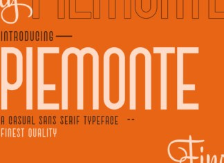 Piemonte Font