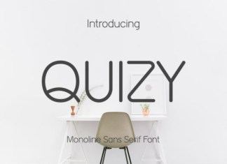 Quizy Font