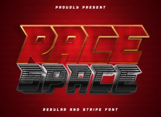Race Space Font