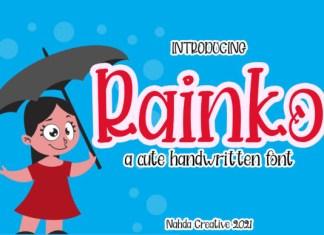 Rainko Font