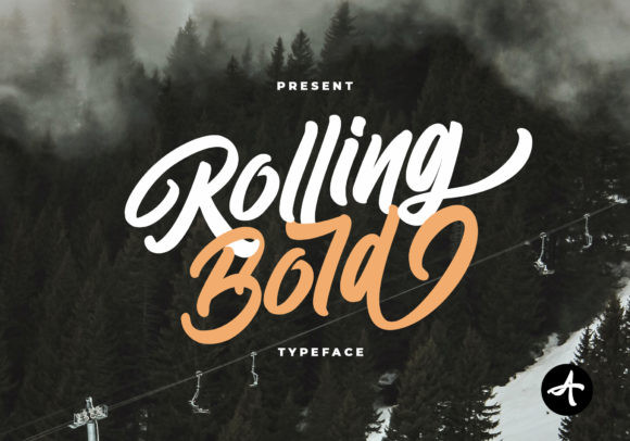 Rolling Bold Font