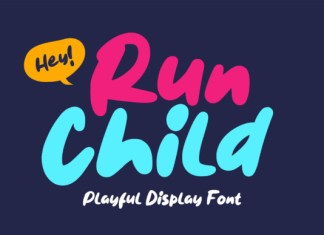 Run Child Font