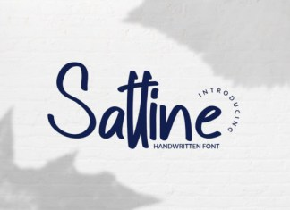 Sattine Font
