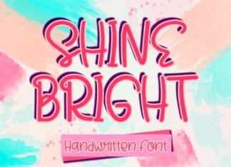 Shine Bright Font