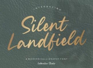 Silent Landfield Font