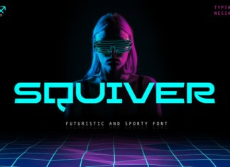 Squiver Font