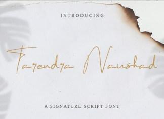 Tarendra Naushad Font