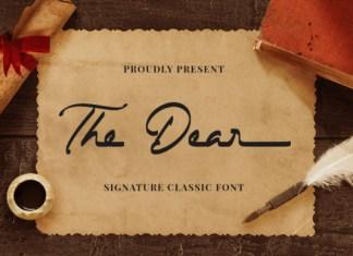 The Dear Font