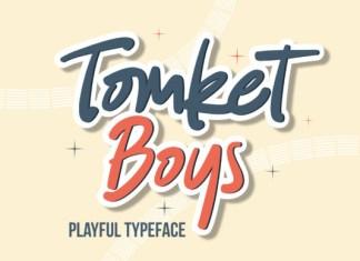 Tomket Boys Font