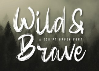 Wild & Brave Font