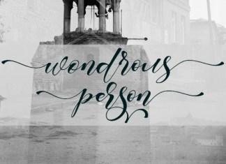 Wondrous Font