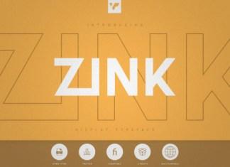 Zink Font
