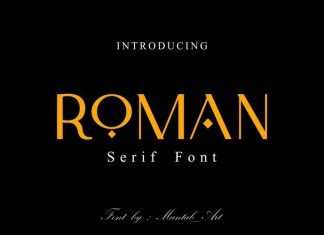 Roman Font