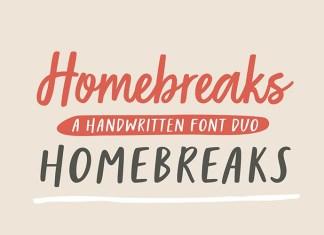 Homebreaks Font