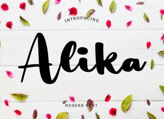 Alika Modern Font