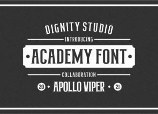 Academy Font