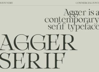 Agger Font